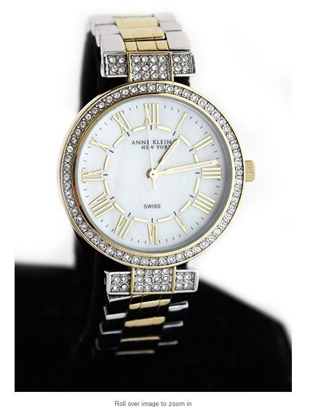 Primary image for Anne Klein Anne Klein 12/2251MPRV Reversible Two Tone Band Crystal Accent Watch