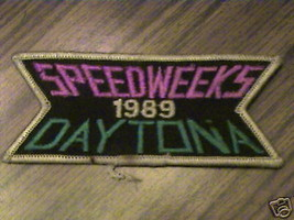 OLD SPEEDWEEKS 1989 DAYTONA RARE,TRACK COLLECT 1 PATCH - $25.27