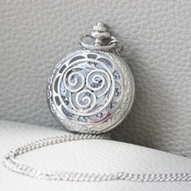 Avatar:The Last Airbender inspired air Nation pocket watch necklace - $5.47