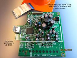 Hitachi 42HDF39 / 42PD6000TC- Hdmi Board PWB-0892-02 JA05731-C With Ribbon Cable - $25.20