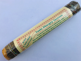 Tashi Dhargey (Amber & Herbs Mixed) Traditional Tibetan Incense Stick. - $2.90