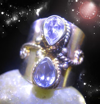 Haunted Ring Ancient Crones Get Past All That Holds You Back Secret Ooak Magick - $7,347.77