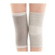 Soft Knee Brace Sleeve for Sports/Yoga/Dance/Arthritis/Joint Pain Gray (M) - $16.33