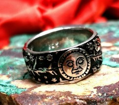 *jinn ring*  witchcraft owned moon goddess. Full moon & new moon spell r... - $48.73