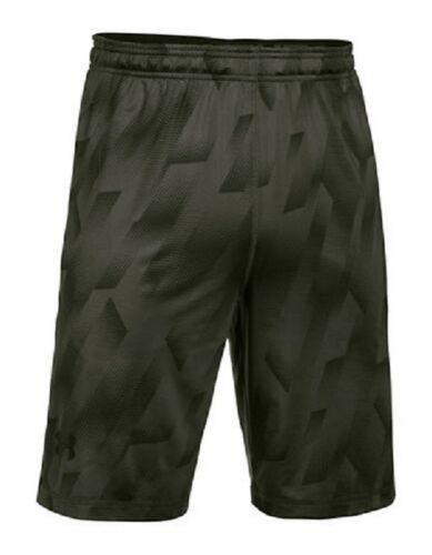 Small Men's Under Armour RAID Shorts Heatgear Loose Fit Athletic Short Green NEW