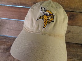 Minnesota VIKINGS Football NFL Reebok Adjustable Adult Cap Hat - $9.89