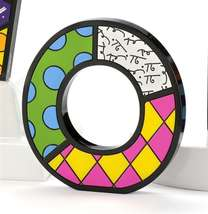 """6"""" Romero Britto Alphabet Letter Figurine Various Freestanding or Wall Mounted image 11"""