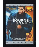 The Bourne Identity (DVD, 2003, Widescreen)  free shipping - $5.87