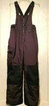 Columbia Kids Snowski Bib Pants Size 14 / 16 Black Adjustable Suspenders... - $16.63