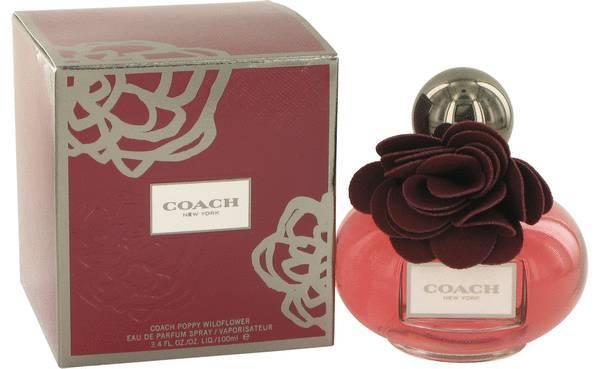 Coach poppy wildflower perfume