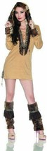 Delicious Adult Eskimo Kisses Halloween Costume, Brown, Extra Small Theater - $19.35