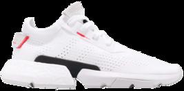 Adidas Pod -S3.1 Men Size 10.0 White Shock Red New Running - $138.59