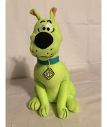 """Official Scooby Doo Plush Stuffed Animal Toy Fluorescent Neon Green  12""""... - $16.39"""