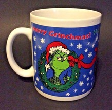 "Dr. Seuss Grinch Mug/ Tasse ""How The Grinch Stole Christmas!"" Large Coff... - $25.73"