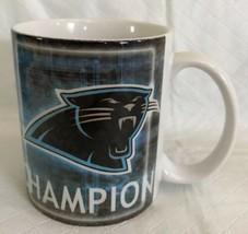 Carolina Panthers NFL NFC Champions 2004 Coffee Cup Mug Super Bowl XXXVIII - $14.84