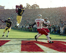 Charles Woodson Michigan Vintage 11X14 Matted Color Football Memorabilia... - $14.99