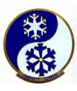 AIR FORCE 380TH OMS BOMBER METAL MILITARY EMBROIDERED JACKET PATCH - $23.74