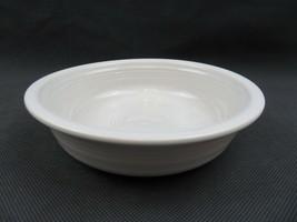 Vintage Fiesta USA white ceramic US Pottery deco baby child plate - $10.00