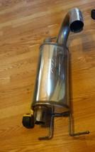 New Magnaflow muffler.