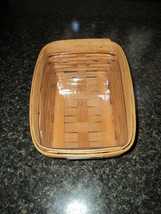 1999 Longaberger Start Success Notepad Basket with Protector - $16.83