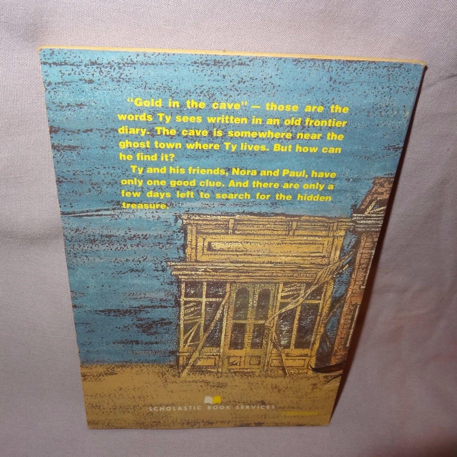 Ghost Town Treasure Book 1981 Clyde Robert Bulla Paperback Scholastic