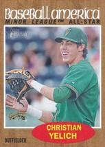 2011 Topps Heritage Minor League #243 Christian Yelich (Prospect / Rooki... - $30.00