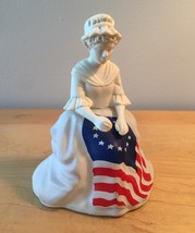 70s Avon Betsy Ross sewing the American flag cologne bottle (Sonnet)