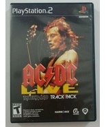 ACDC Live Rockband Track Pack PS2 Game Playstation 2 MTV Games 2008 - $3.99