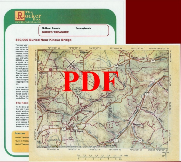 Kinzua Bridge Cache of McKean County, Pennsylvania - PDF