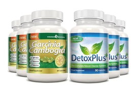 Garcinia Cambogia Cleanse Combo 1000mg 60% HCA with Potassium and Calciu... - $51.99