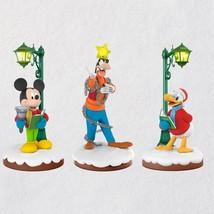 Disney Christmas Carolers Limited Edition  2018 Hallmark Ornament - $194.03