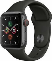 Apple Watch Series 5 GPS Cellular - Black  - $639.97