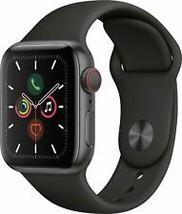 Apple Watch Series 5 GPS & Cellular 40mm - Black - $579.97