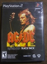 AC/DC Live Rock Band Track Pack for Playstation 2 PS2 Harmonix Rated Tee... - $13.99