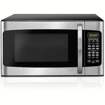 Microwave Oven 1.1 Cu For Kitchen With Digital Countertop Led Display Si... - $98.23