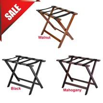 """PICK YOUR VARIATIONS Heavy Duty Wood Folding Luggage Rack - 24 1/2"""" x 15... - $48.84+"""