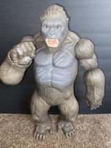 "King Kong 2016 Lanard Skull Island 18"" Gorilla Poseable Action Figure - $59.39"