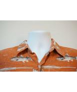 RedHead Trout-Fishing Rayon-Blend Hawaiian Shirt, Excellent, Men's Mediu... - $12.74