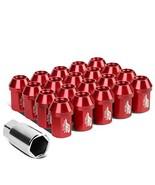 J2 Engineering LN-T7-006-15-RD Red 7075 Aluminum M12X1.5 20Pcs L: 35mm C... - $43.99