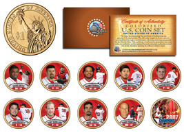 2007 BOSTON RED SOX CHAMPIONS Presidential $1 Dollar U.S. Colorized 10-C... - $49.45