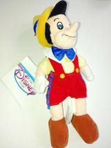 Disney Pinocchio 8'' Plush Mini Bean Bag Toy New With Tags  Free Shipping - $16.82