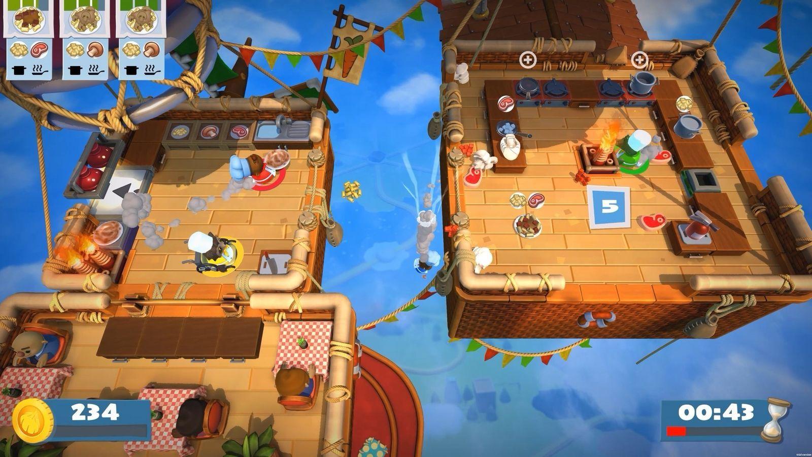 Overcooked! 2  Nintendo Switch NEW! image 4