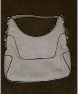 Vintage Michael Kors Brooke Hobo Shoulder bag serial #616N B0710 White L... - $128.70