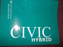 2012 Honda Civic Hybrid Body Service Shop Manual Oem Dealership Book 12 - $11.08