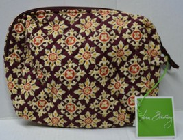 Vera Bradley Medallion Travel Large Cosmetic Made In USA New - $22.80