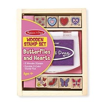 Melissa & Doug Butterfly and Hearts Stamp Set  - $12.00