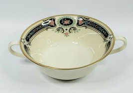 Lenox Kent Gardens Cream Double Handle Soup Bowl - $34.25