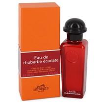 Hermès Eau De Rhubarbe Ecarlate Eau De Cologne Spray 1.6 oz - $99.00