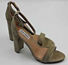 STEVE MADDEN Carrson Women's Suede Heel - Taupe - Size 8.5 - NEW Authentic - $65.44