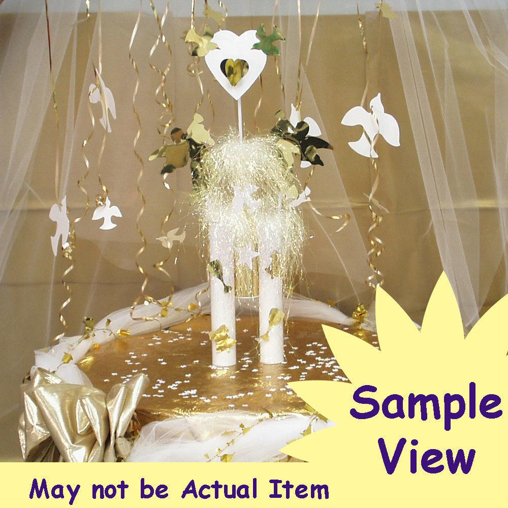Flower Zinnia Cutouts Plastic Shapes Confetti Die Cut FREE SHIPPING